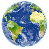 Atlantský oceán na planetě Zemi