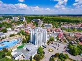Aerial view of Felix Baths, Romania Medical Spas in Bihor