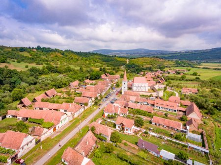 Cloasterf Saxon Village and Fortified Church in Transylvania, Ro
