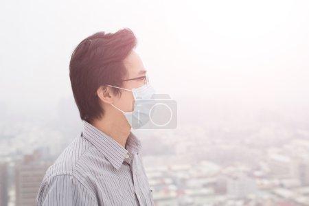 Man wear masks
