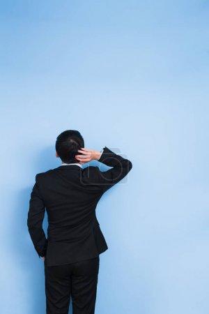 businessman feeling  confused