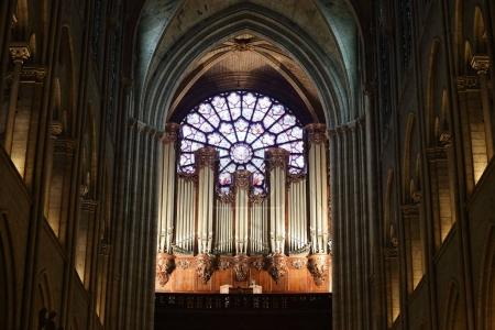 organ in the Notre Dame