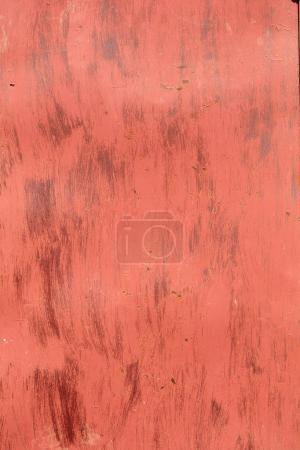 Old rusty red metal texture
