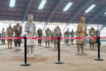 The Terracotta Warriors of China