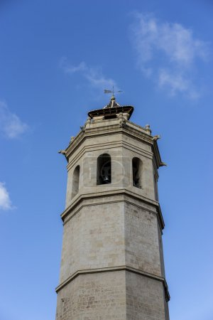 Tower in center of Spanish city Castellon