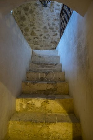 Medieval castle crypt