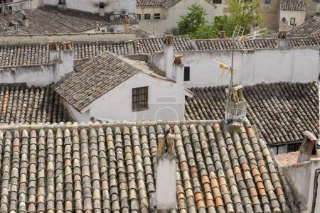 Madrid, Classic tile roofs