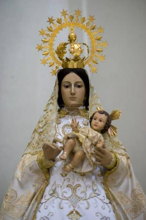 Virgin mary. Holy Week in Spain