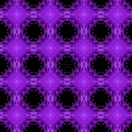 Photo for Dark purple curve with line pattern abstract background. Grid Mosaic Background, Creative Design Templates - Royalty Free Image