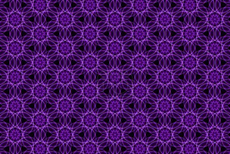 seamless dark purple curve with line pattern abstract background. Grid Mosaic Background, Creative Design Templates