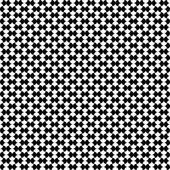 Vector seamless pattern Modern stylish texture Repeating geometric tiles with a grid
