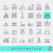 Various styles and building purposes. Buildings fo...