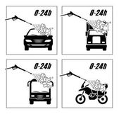 Collection of very useful icons for car wash