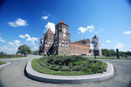 Picturesque castle in Belarus
