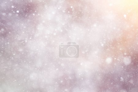 Snowfall texture of snowflakes