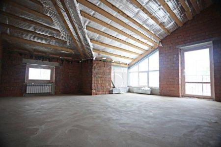 Photo pour Appartement neuf répare grenier - image libre de droit