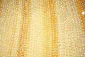 Pearl threads in shop window