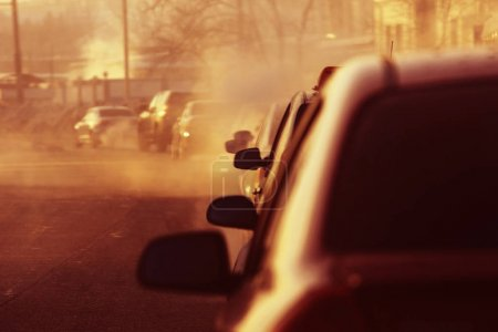 ciudad coches de calle