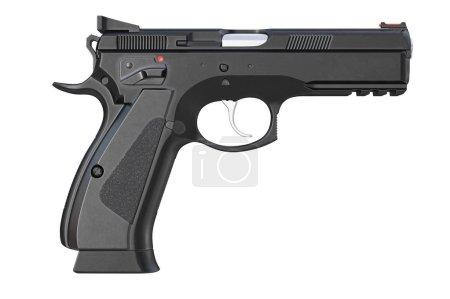 Gun weapon military, side view