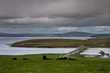 Orkneys, Scotland - June 5, 2012: Glims Hold Islan...