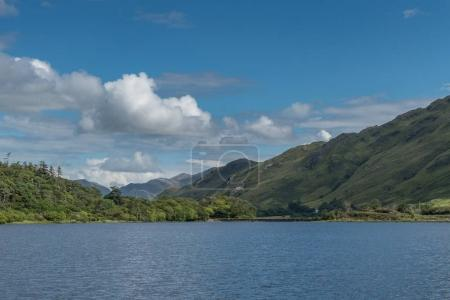 Pollacapall Lough at Kylemore Abbey, Ireland.