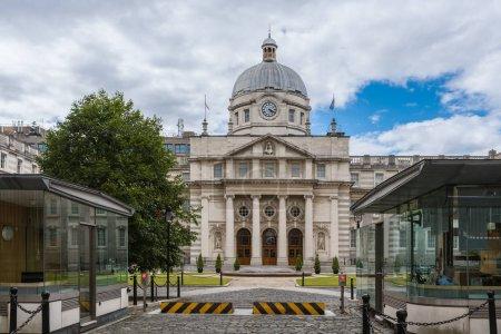 Historic Government Building in Merrion Street Upper, Dublin Ire