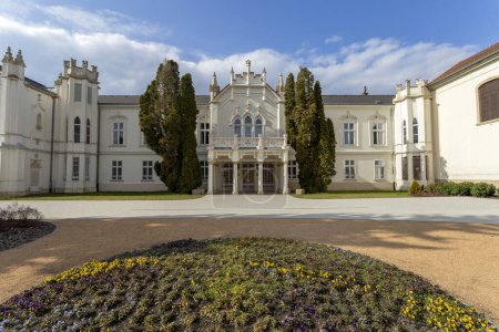 The famous Brunszvik Palace in Martonvasar, Hungar...