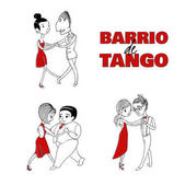 Funny couples dancing argentine tango