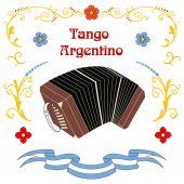 Argentine tango poster