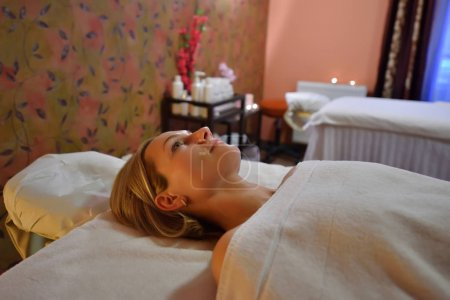 Portrait of spa woman at the health spa