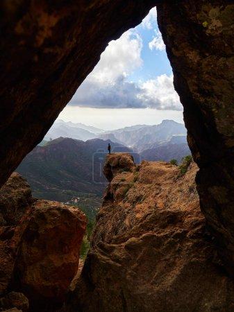 mountain landscape in Gran Canaria island