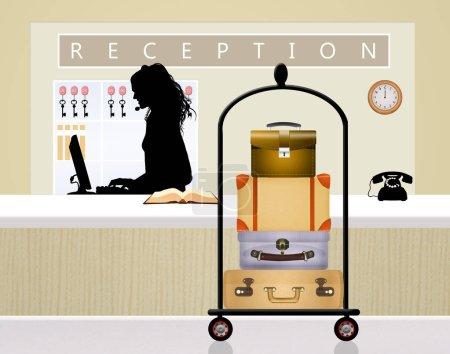 illustration of reception