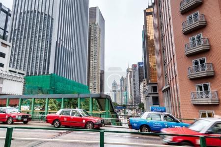 Hong Kong skyline city
