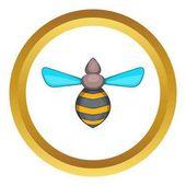 Včela vektorové ikony