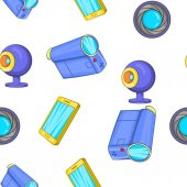 Elektronické přístroje vzorek, kreslený styl