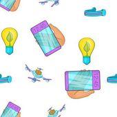Inovativní přístroj vzorek, kreslený styl