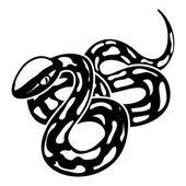 Texas snake icon simple style