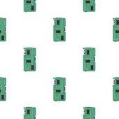 Phone chip pattern seamless
