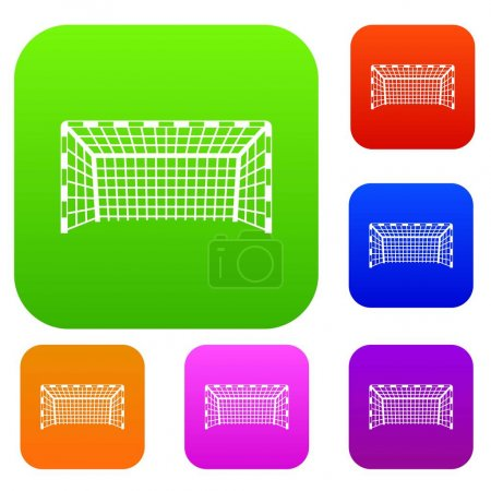 Goal post set color collection