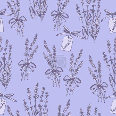 design of Graphic lavender