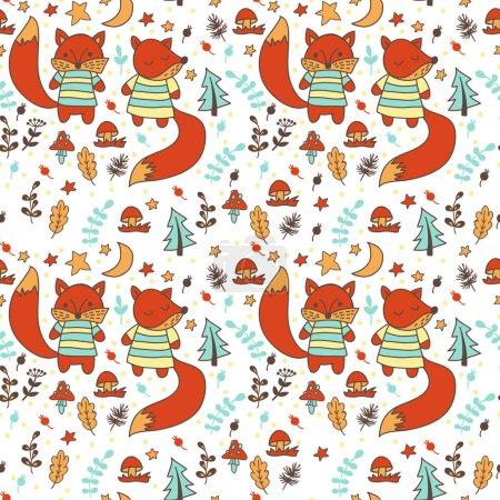design of Children foxes