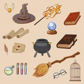 Set of Magic Related elements