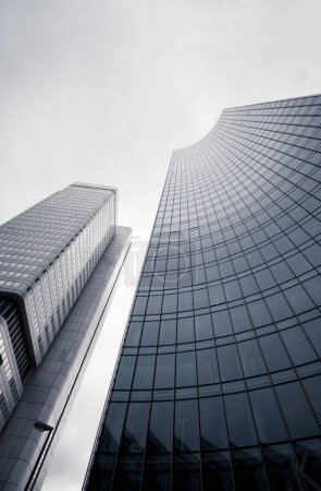 High skyscrapers in Frankfurt