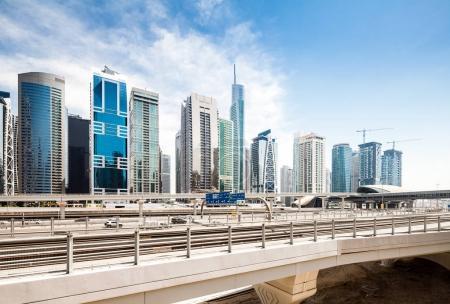 modern skyscrapers in Dubai
