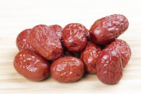 Photo for Close up of delicious dried dates, they make the perfect healthy snack food - Royalty Free Image