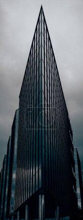 Urban glass building