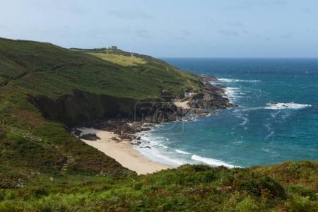 Portheras Cove Cornwall secluded beach hidden gem on the Cornish coast South West of St Ives