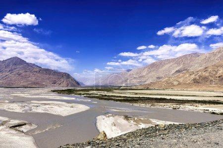 The Nubra Valley in Ladakh region, India