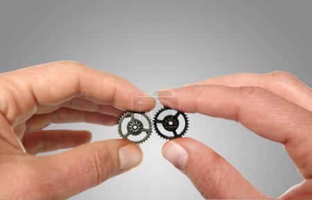 Putting two gears together