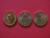 pope John Paul II, Benedict XVI and Francis I 50 cents coins